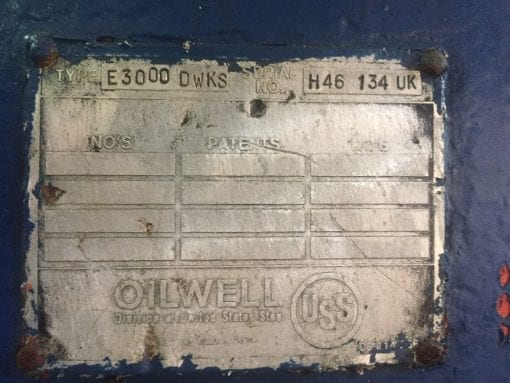 (1) Used NOV E3000 Drawwork for sale-IMG_9317