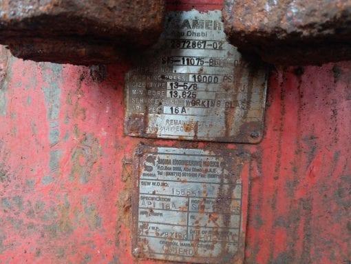 (1) used Cameron 13-58 10k psi BOP for sale-IMG-20180908-WA0016