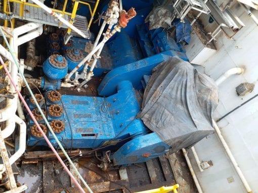 NOV 12-P-160 Triplex Mud Pump